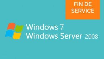 Windows 7 et Server 2008 ne seront plus pris en charge en Janvier 2020