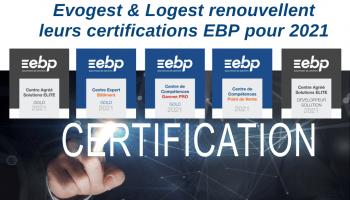 Evogest & Logest renouvellent leurs certifications EBP pour 2021 !