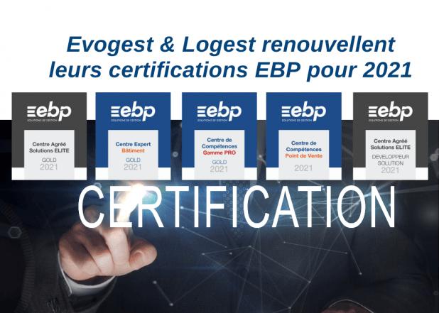 Evogest _ Logest renouvelle ses agréments EBP pour 2021
