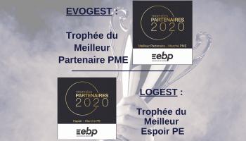 2 Trophées EBP pour Evogest & Logest !